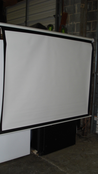 Projection Screens - Wall Mount - click to see full size photo