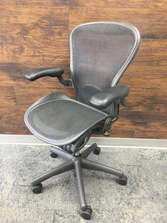 Herman Miller Aeron 3 Paddle Size B Loaded - click to see full size photo