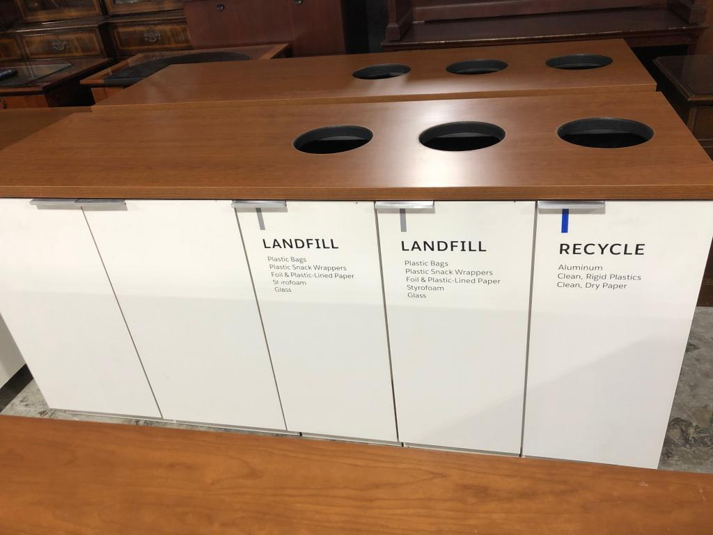 Trash Bin Cabinets - click to see full size photo