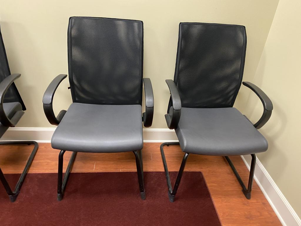 Artopex Mesh Back Side Chairs - click to see full size photo