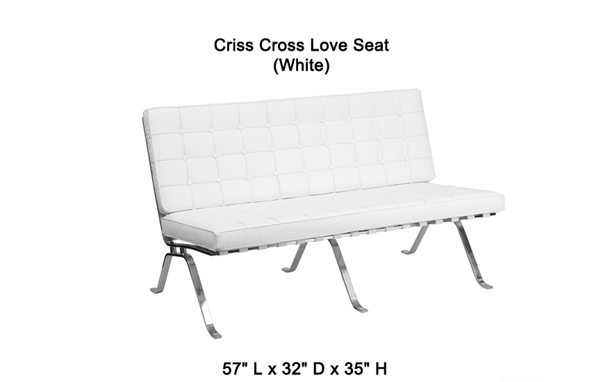 Criss Cross Lounge / Reception seating - click to see full size photo
