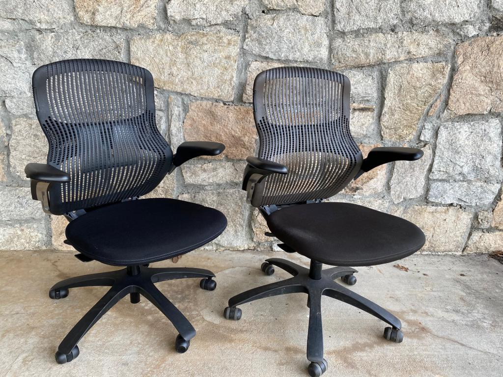 Knoll Generation Task Chairs - click to see full size photo