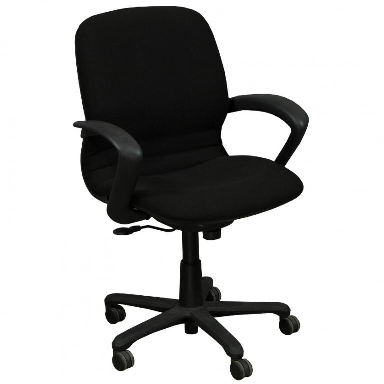 Steelcase Black Rally Conference Chairs - click to see full size photo