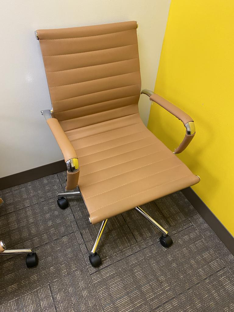 Tan Executive Chairs - click to see full size photo