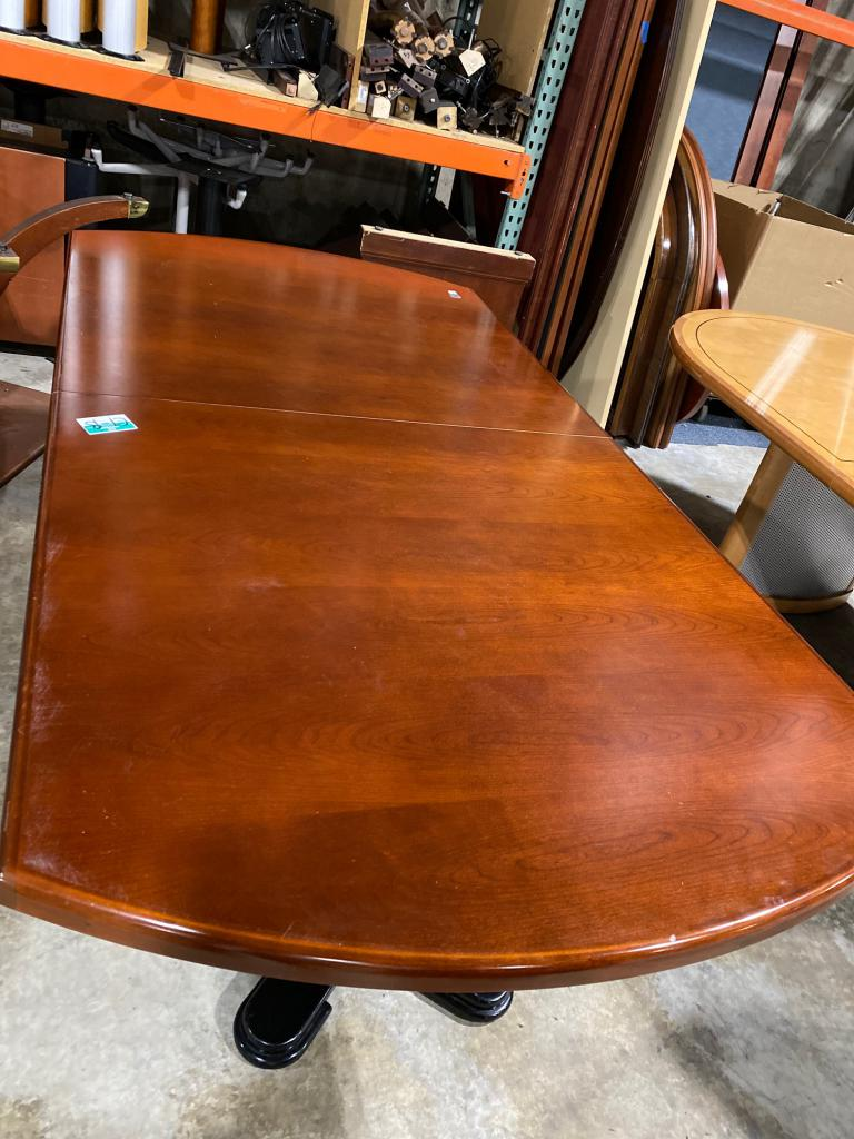 7' Cherry Conference Table - click to see full size photo